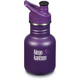 Klean Kanteen Classic Bidón 355ml con Sport Cap 3.0 Niños, violeta